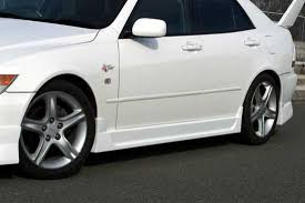 lexus is 300 kit chargespeed lexus is 300 type 1 side skirt in 2000 2005 lexus