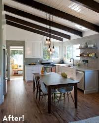 Lights For Kitchen Ceiling Modern by Best 20 Vaulted Ceiling Kitchen Ideas On Pinterest Vaulted