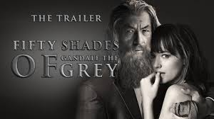 fifty shades of grey 50 shades of gandalf the grey the official trailer funny