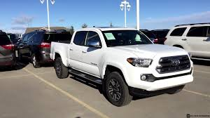 Tacoma Redesign 2016 Toyota Tacoma Limited Double Cab In Alpine White Youtube