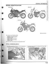 2013 2015 honda cbr500 cb500 motorcycle service manual