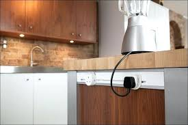 Kitchen Island Outlet Ideas Pop Up Electrical Outlet For Kitchen Island Pop Up Power Grommet