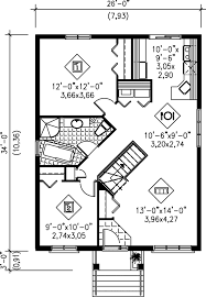 cottage style house plan 2 beds 1 00 baths 884 sq ft plan 25 119