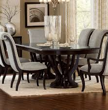 pedestal dining room sets homelegance savion double pedestal dining table with leaf