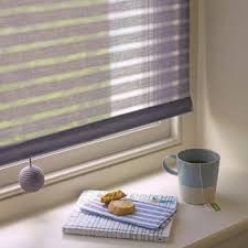 Cotton Roller Blinds Roller Blind Fabric Organic Stripe Eco Cotton