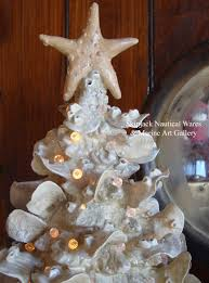 ceramic lighted tree by kevin collins coastal