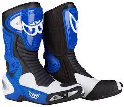 moto boots sale berik race x racing motorcycle boots blue white black berik