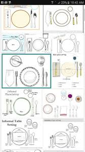 Informal Table Setting by 332 Best Etiquette Tablescapes Images On Pinterest Tables