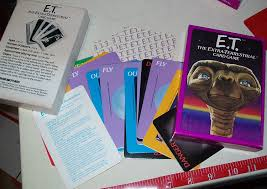 Home Design Game Questions by Amazon Com E T The Extra Terrestrial Card Game Toys U0026 Games