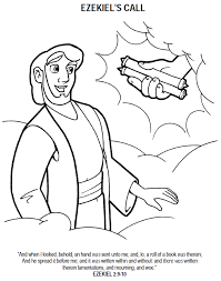 the call of ezekiel coloring page