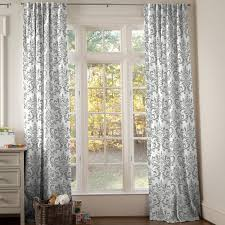 Black And Gold Damask Curtains by Drapes And Curtains Coordinating Drape Panels Carousel Designs