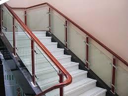 Modern Glass Stairs Design Interior Modern Wood Stair Railings Modern Wood Stair Railings