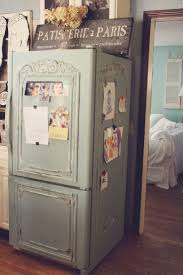 Annie Sloan Painted Kitchen Cabinets 13 Best Refrigerator Makeover Images On Pinterest Refrigerator