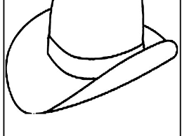 23 cowboy hat coloring cowboy printable coloring pages