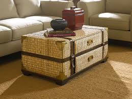 Wicker Trunk Coffee Table Trunk Coffee Table Coffee Tables