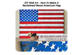American Flag Awesome Diy Reclaimed Wood American Flag With Cool Innovation In Canada