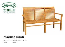 Teak Benches Teak Benches W Bruce Teak Nurseries