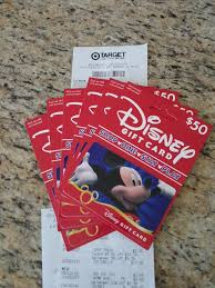 vacation gift cards save 5 on disney vacations by using your target card