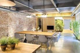 wood dining table pendant lighting living room loft style home