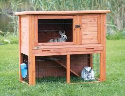 Rabbit Hutch Plans Amazon Com Rabbit Hutch With Sloped Roof L Patio Lawn U0026 Garden