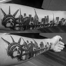 new york skyline tattoo tattoo collections