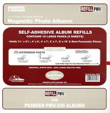 pioneer photo albums refills pioneer photo album refill pages pmv up to 8 x 10 for pmv 206 ebay