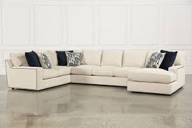 Sofas With Chaise Rennell 3 Piece Sectional W Raf Chaise Living Spaces