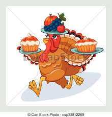 turkey 2 vector illustration of happy thanksgiving turkey clip