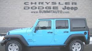 chief jeep wrangler 2017 simple sold 7j150 2017 jeep wrangler unlimited 4x4 chief blue