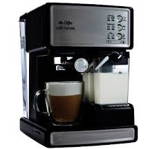 Walmart Coffee Bean Grinder Mr Coffee Espresso Maker Stainless Steel And Black Bvmc Ecm260