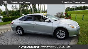 toyota com 2015 used toyota camry 4dr sedan i4 automatic le at royal palm