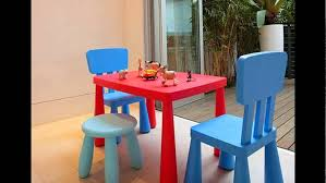 Plastic Tables And Chairs Plastic Tables And Chairs For Kids Youtube
