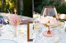 wine glass centerpiece is super pretty wedding ideas juxtapost