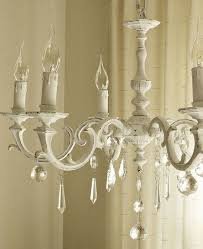 Shabby Chic Bathroom Lighting Painted Chandeliers Before And After Shabby Chic Inspired