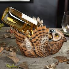 Owl Lovers by Drunken Owl Wine Bottle Holder