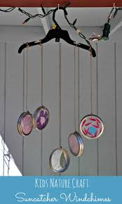 suncatcher wind chimes nature craft happy mothering