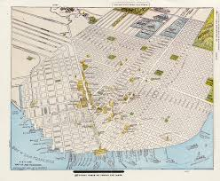 San Francisco Transportation Map by San Francisco History Links