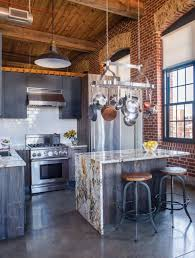 kitchen decorating industrial loft design kitchen remodel roof