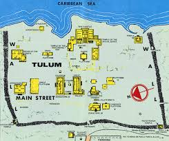 tulum map index of tulum