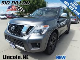 nissan armada wireless headphones new 2017 nissan armada platinum suv in lincoln 4n171103 sid