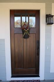 Stain Exterior Door Another Favorite Door Style And It Provides More Privacy But Still