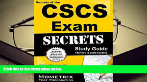 audiobook secrets of the cscs exam study guide cscs test review