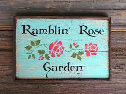 garden signs home outdoor decoration