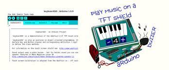 arduino touch screen keyboard 5 steps