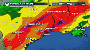 Fort Polk Louisiana Map by Flooding Rains Possible For South Eastern Texas This Weekend
