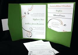 green wedding invitations wedding invitation green simplo co