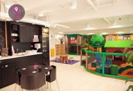 Walk In Play Kitchen by Kitchen Stainless Steel Countertops Black Cabinets Pantry Entry