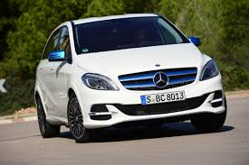 mercedes b class electric drive review auto express
