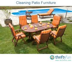 How To Clean Patio Chairs Cleaning Patio Furniture Thriftyfun