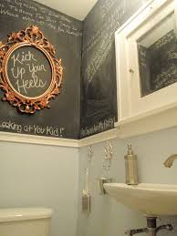 bathroom extraordinary shabby chic chalkboard bathroom ideas with